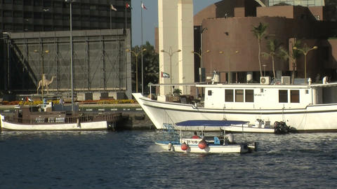 water taxi Stock Video Footage