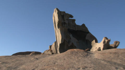Zoom out from the Remarkable Rock Footage