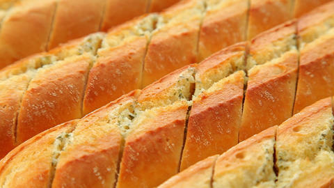 Baguettes stock footage