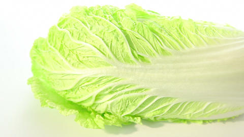 Green chinese cabbage Stock Video Footage