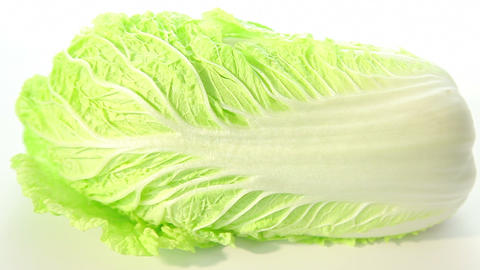 Green chinese cabbage Footage