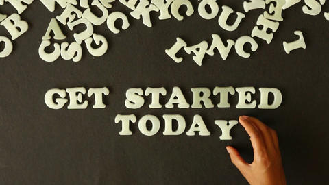 Get Started Today Footage