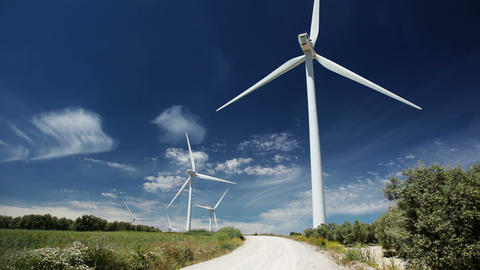 Wind power Stock Video Footage