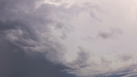 Improvement in the weather. Timelapse Stock Video Footage