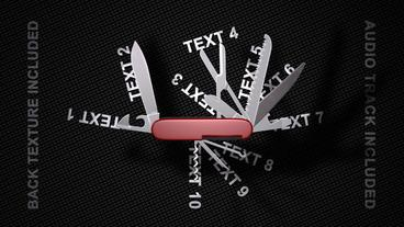 Swiss Knife Promo Template After Effect