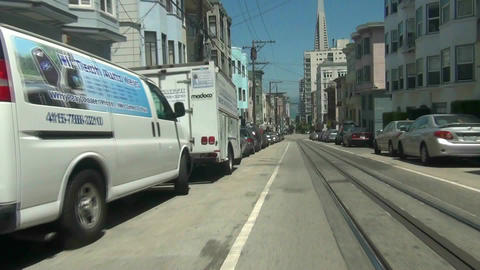 San Francisco Cable Car -2 Footage