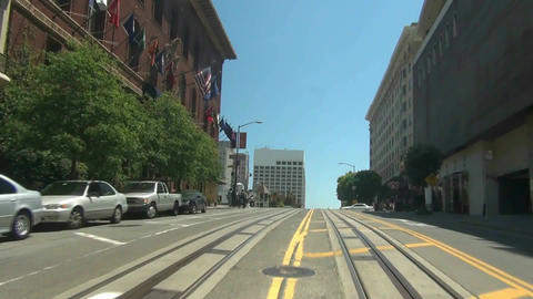 San Francisco Cable Car - 4 Stock Video Footage