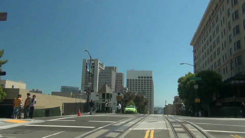 San Francisco Cable Car - 4 Footage