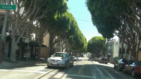 Cable Car - San Francisco -6 Stock Video Footage