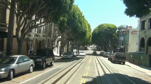 Cable Car - San Francisco -6 Footage