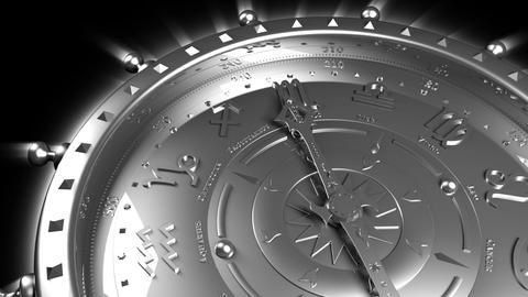 Silver Zodiac Gadget Stock Video Footage