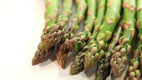 Fresh asparagus Footage