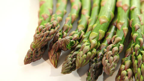 Fresh asparagus Stock Video Footage