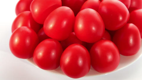 Beautiful red tomatoes Stock Video Footage