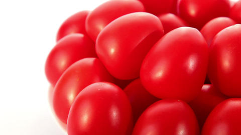 Tomatoes - dolly shot Stock Video Footage
