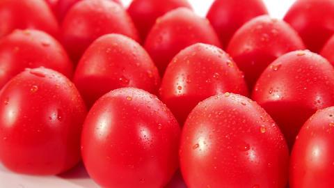 Organic food, tomato Stock Video Footage
