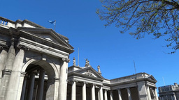 Dublin City Architecture 1 Stock Video Footage