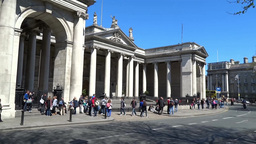 Dublin City Architecture 1 Footage