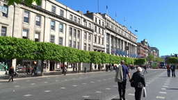 Dublin City Architecture 3 Stock Video Footage