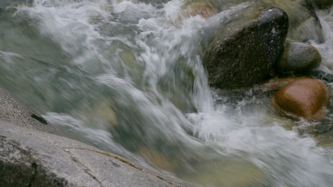 Mountain river and the sound of water Footage