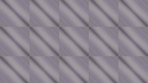 purple square & rhombus mosaics tile background Stock Video Footage