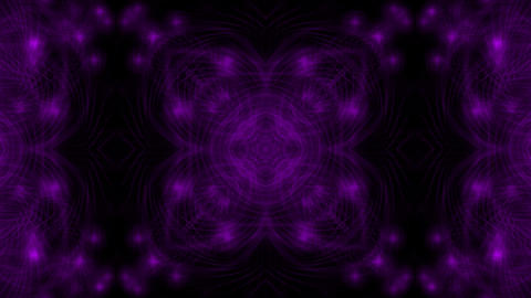purple flower fancy pattern,disco fiber optic neon... Stock Video Footage