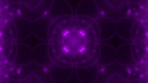 purple flower fancy pattern,disco fiber optic neon... Stock Video Footage