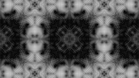 flower fancy pattern,disco fiber optic neon background Stock Video Footage