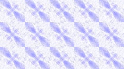 blue square mosaics tile & shine fancy fiber optic background Animation