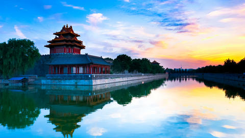 Forbidden City, Beijing, China Stock Video Footage
