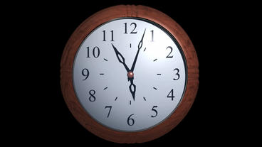 3d clock time lapse Stock Video Footage