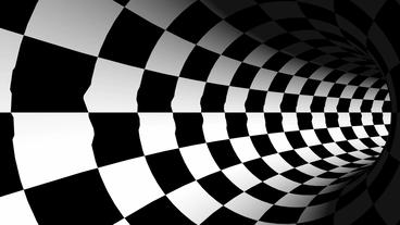 tralver tunnel spiral-white & black,another world passage Animation