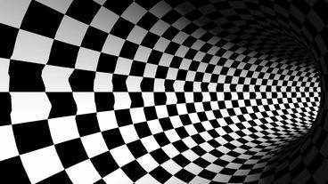 tralver tunnel spiral-white & black,another world passage Animation
