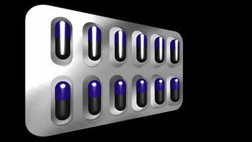 medicine & drug capsule Stock Video Footage