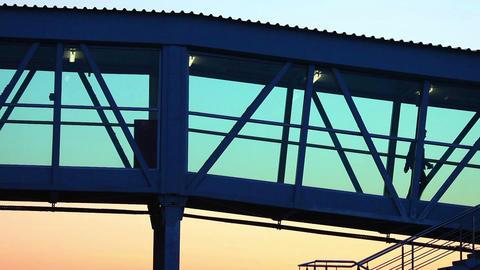 Jet bridge Footage