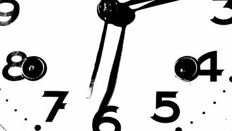 Clock Footage