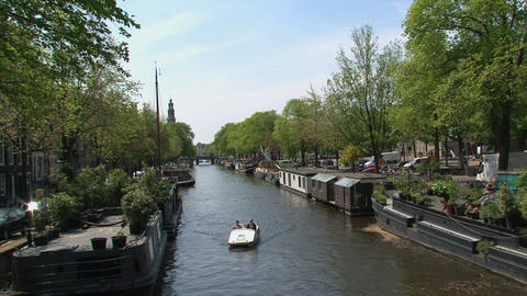 Tourism in Amsterdam Footage