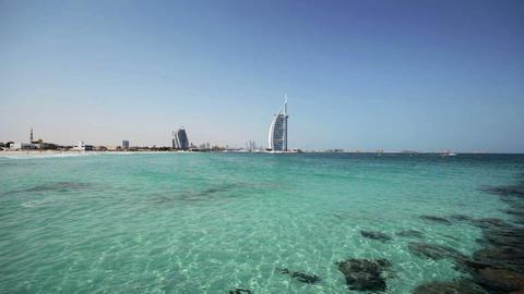 Burj Al Arab. Dubai Stock Video Footage