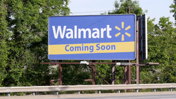 Walmart Coming Soon Stock Video Footage