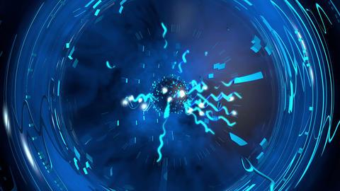 Electric Shock Plasma Ball Stock Video Footage