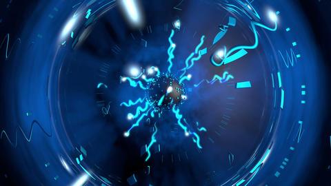 Electric Shock Plasma Ball Animation