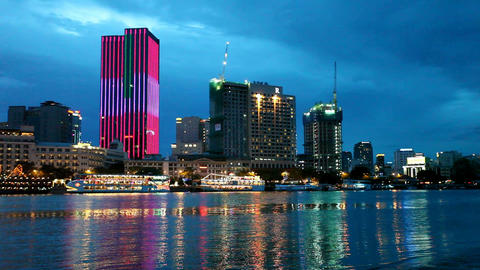 Ho Chi Minh City Skyline Footage