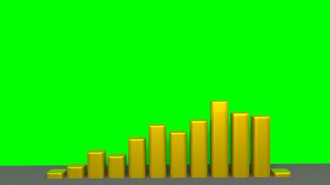 Chart - Animation - Gold Animation