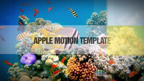 slideshow 023 Apple Motion Template
