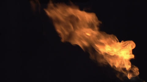 Isolated Flame Animation
