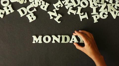 Monday Stock Video Footage