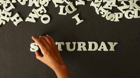 Saturday Stock Video Footage