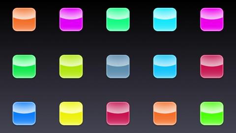 Smart Phone apps G Ib 2 HD Stock Video Footage