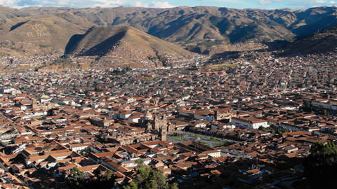 Cusco Panorama Footage