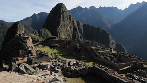 Classic Machu Picchu Stock Video Footage